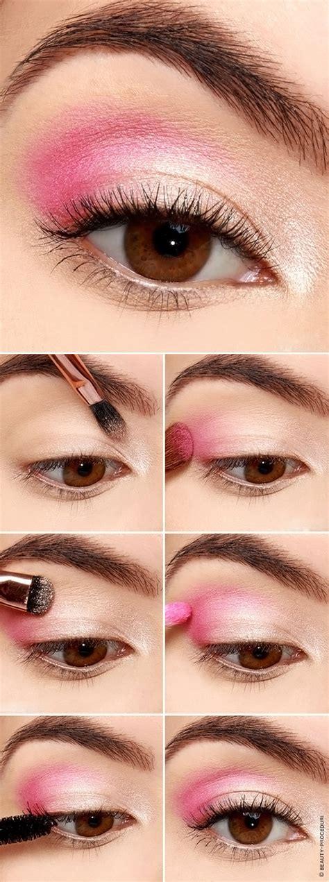 Дневной макияж для карих глаз пошаговое фото стильный мейкап