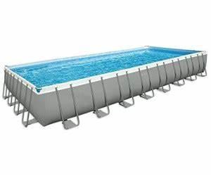 Frame Pool Rechteckig : intex ultra frame pool 975 x 488 x 132 cm ab preisvergleich bei ~ Frokenaadalensverden.com Haus und Dekorationen