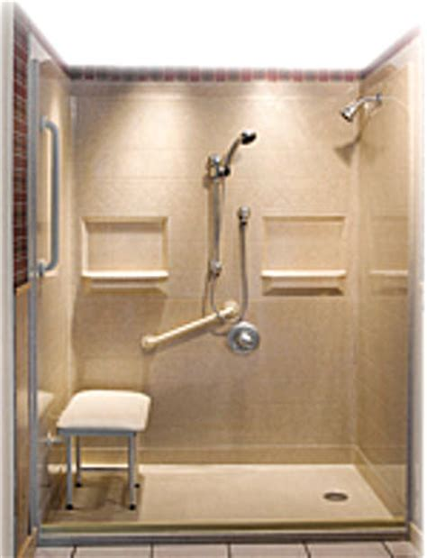 mobile modular home handicap showers wheelchair accessible  showers  accessible