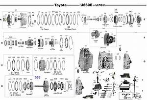 Transmission Repair Manuals U660e  U760e