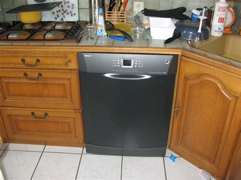 hauteur plan de travail cuisine ikea installation lave vaisselle