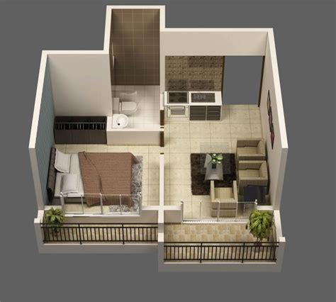 Comment Organiser Appartement Le Plan Appartement D Un Studio 50 Id 233 Es Originales