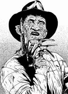 freddy krueger colouring pages MEMES