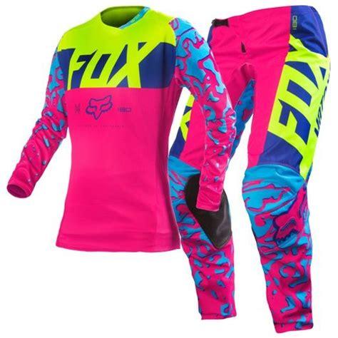 motocross gear for girls fox mx gear 2016 180 women s pink gear