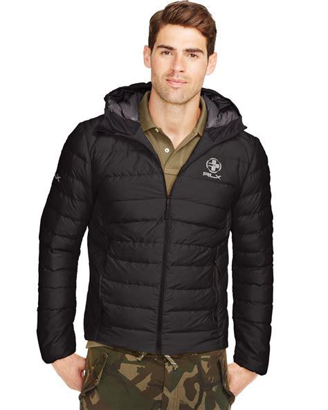 Polo Ralph Lauren Explorer Rlx Down Jacket Polo Black Hos