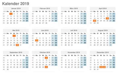 kalender zum ausdrucken mit feiertagen