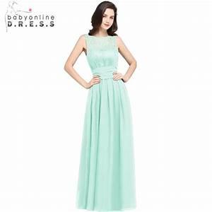 Robe Demoiselle Dhonneur : robe demoiselle d 39 honneur cheap chiffon lace mint green bridesmaid dresses long 2018 vestidos ~ Melissatoandfro.com Idées de Décoration