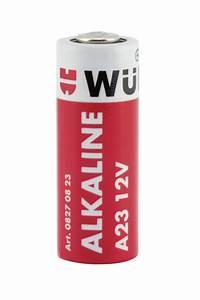 Alkaline manganese battery, 12 V