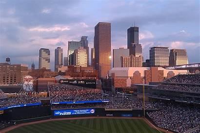 Minnesota Minneapolis Twins Target Field Backgrounds Wallpapers