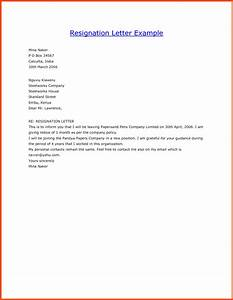 draft resignation letter templates program format With draft letter of resignation template