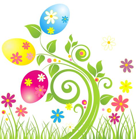 Free Easter Clip Elower Clipart Easter Pencil And In Color Elower Clipart