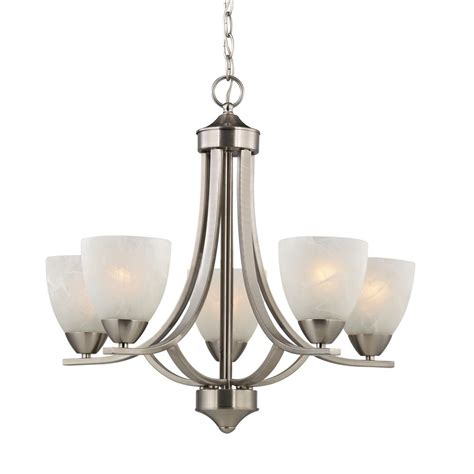 shades of light chandeliers satin nickel chandelier with alabaster glass shades 222
