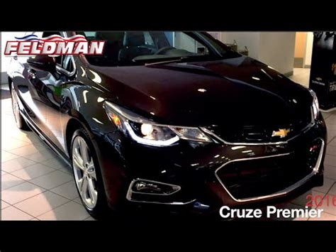 chevrolet cruze premier rs michigan youtube