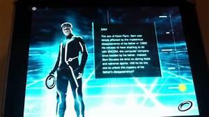 Tron: Legacy iAd for iPad