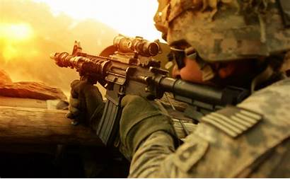 Military Soldier Army American Wallpapers Windows Gun