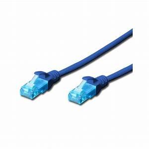 4651-005  - Digitus 0 5m Cat 5e Utp Patch Cable