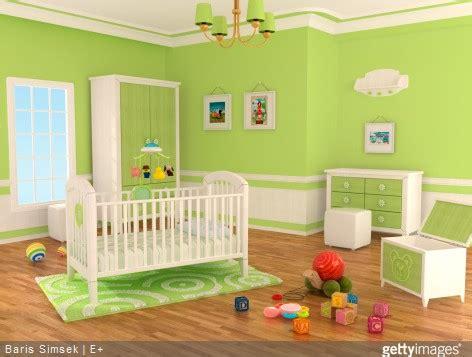 chambre bebe verte utilisez un simulateur de couleurs dans la chambre de