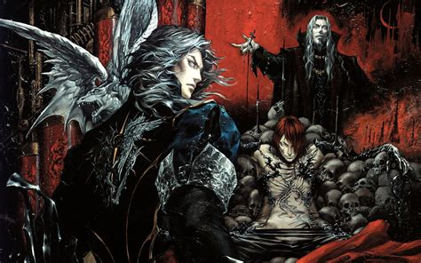Hector And Dracula Castlevania Curse Of Darkness Wallpaper