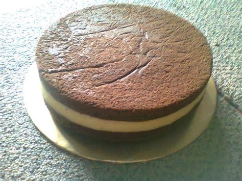 kek kukus coklat cheese resepi mudah  ringkas baked