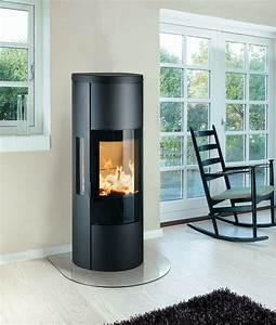 Poele A Bois Moderne : poele a bois design moderne 15 lu0027art du feu ~ Dailycaller-alerts.com Idées de Décoration