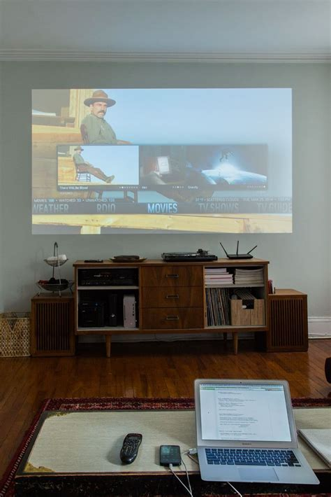 projector wall ideas  pinterest  place