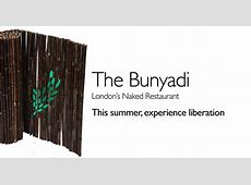 The Bunyadi in London Wants You to Dine Naked