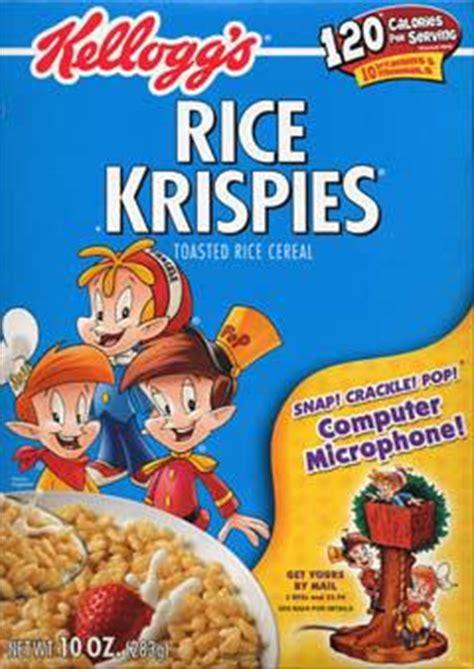 cuisine ris de veau rice krispies informations calories rice krispies