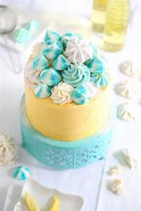 Lemon Meltaway Cake Sprinkle Bakes