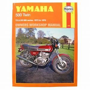 Manual Haynes For 1978 Yamaha Xs 500 E