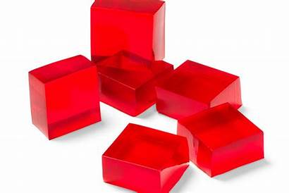 Gelatin Finger Jello Recipe Blocks Jell Clipart