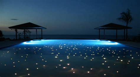 Fiber Pool Illumination