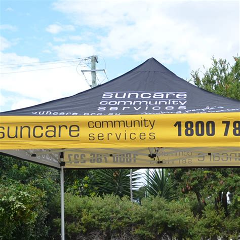 marque canape only 826 10 printed marquee canopy with frame