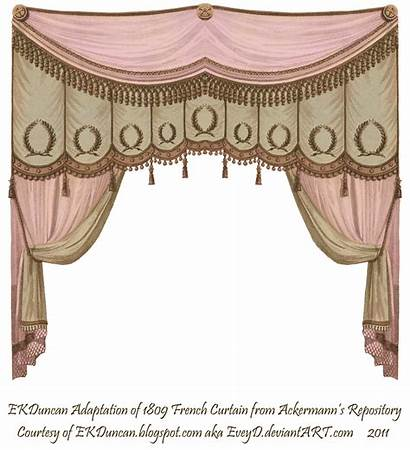 Pink Curtains Curtain Stage Regency Puppet Theater