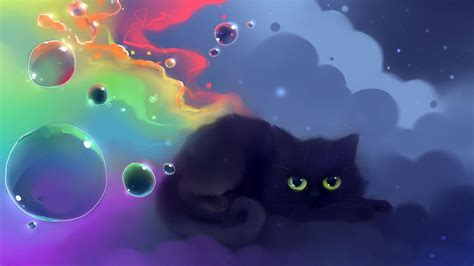 Anime Cat Wallpaper - anime cats wallpapers wallpaper cave