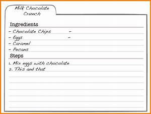 5 free editable recipe card templates for microsoft word With publisher recipe template