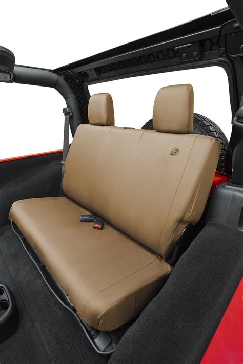 jeep wrangler backseat bestop custom tailored rear seat cover for 08 12 jeep