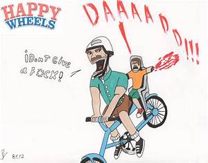 The Irresponsible dad (Happy wheels) by Valtheknight on ...
