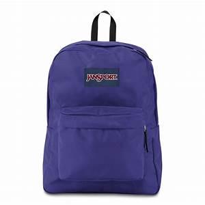 JanSport SuperBreak School Backpack - VIOLET PURPLE