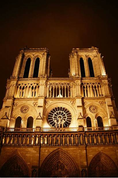 Dame Notre Paris Night Deviantart Askideas Un