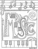 Coloring Subject Pages Music Title Colouring Binder Notebook Doodle Subjects Colour Sheet Nice Sheets Doodles Colors Cute Binders Reading Adult sketch template