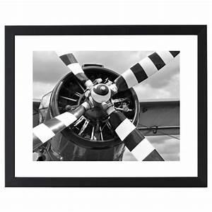 Hélice D Avion Déco : cadre d co avion h lice ray e ~ Teatrodelosmanantiales.com Idées de Décoration