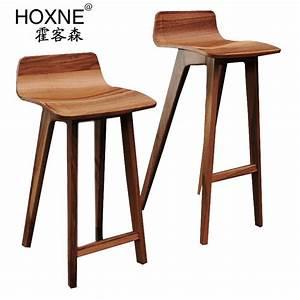 Chaise De Bar Bois : huo sen morph chaise de bar salon des passagers chaise de ~ Dailycaller-alerts.com Idées de Décoration