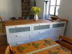 table bar cuisine avec rangement rangement cuisine à base de commode ikea chang 39 e 3