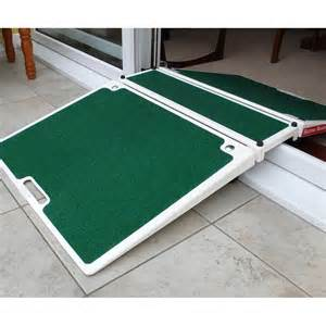 Adjustable Wheelchair Threshold Ramps