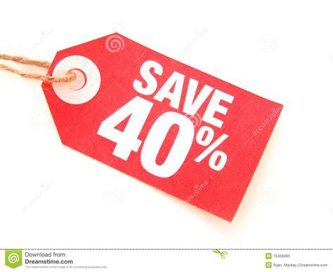 Save 40% Stock Photos - Image: 10456983