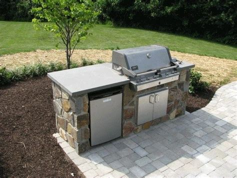 Backyard Built In Bbq by Small Built In Bbq Simple Built In Barbecues Green Ridge