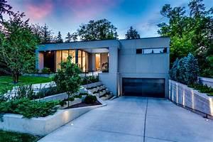Gesims Für Vorhänge : modern bungalow modern h user calgary von rusch ~ Michelbontemps.com Haus und Dekorationen