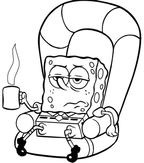 coloring pages  spongebob squarepants animated
