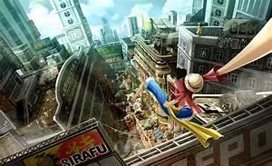 One Piece World Seeker se présente l'Equipage au Chapeau