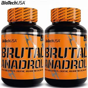 Brutal Anadrol 90  180 Strongest Legal Anabolic Testosterone Booster Made In Usa